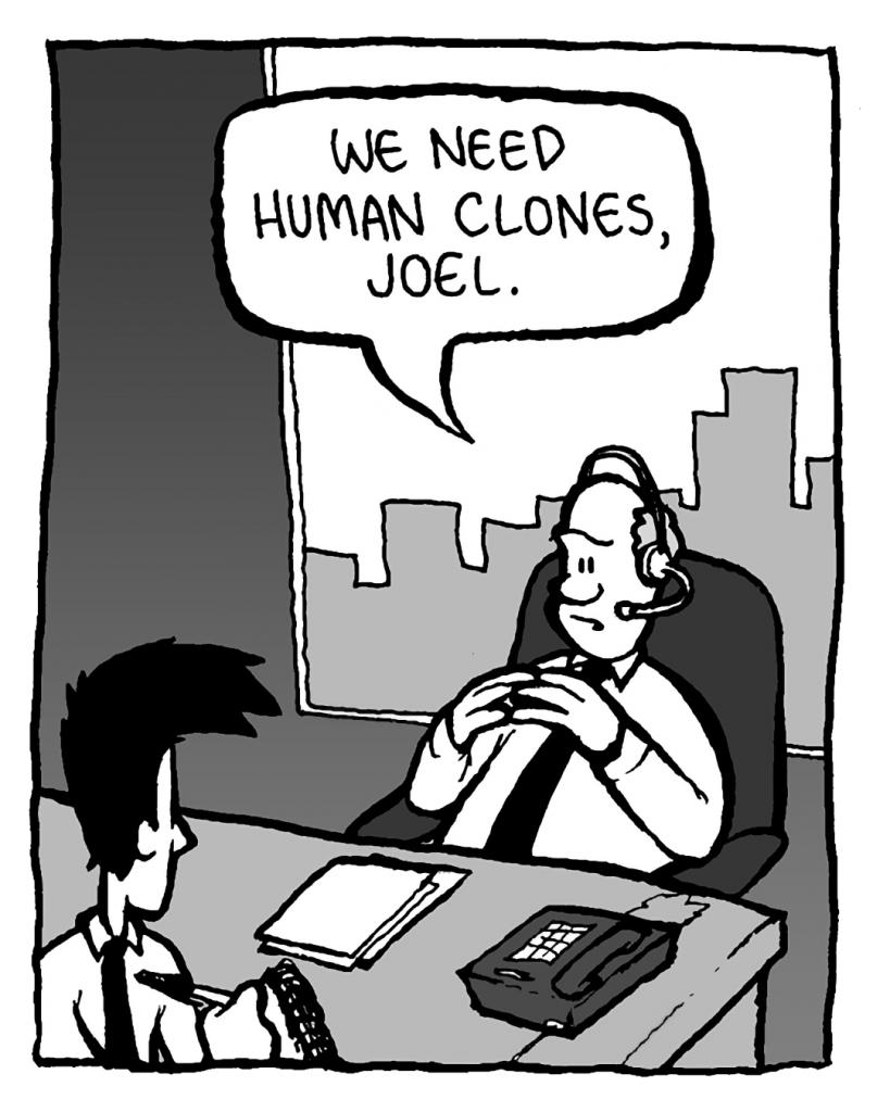 BART: We need human clones, Joel.
