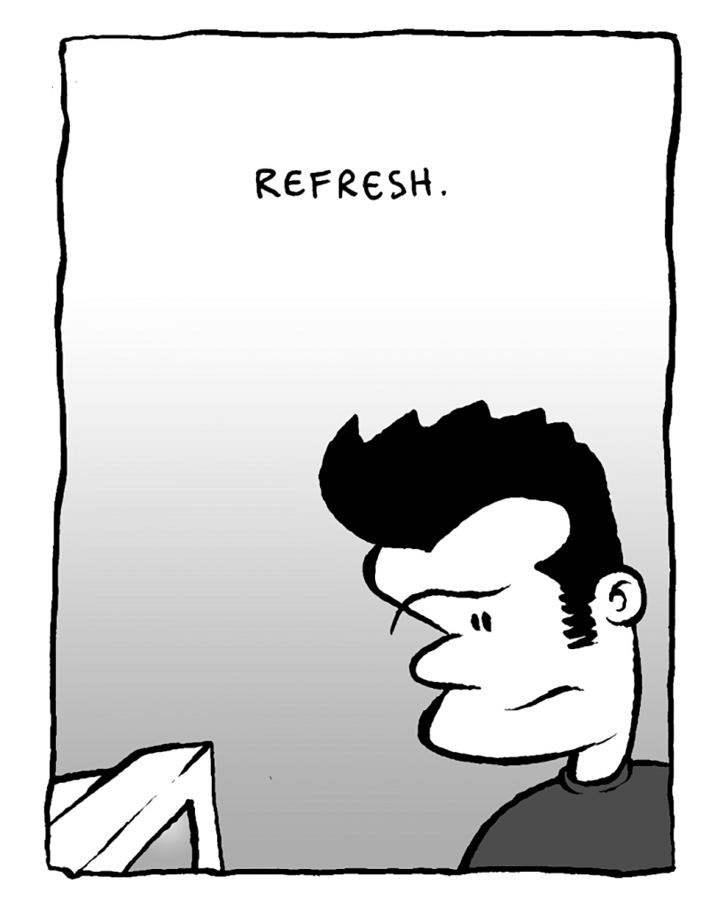 SOUND EFFECT: Refresh.