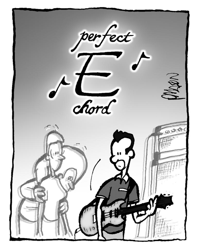 SOUND: perfect E chord
