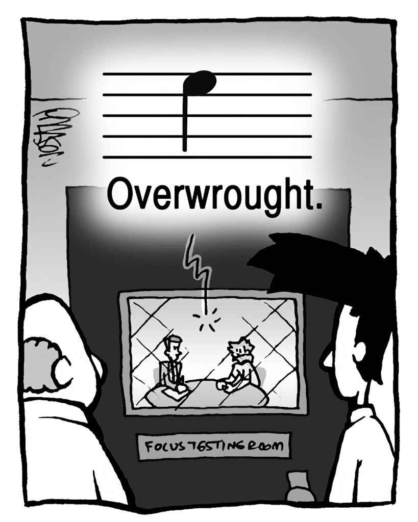 MEGA-TUNE: Overwrought.